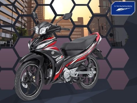 Yamaha JupiZ1 Sporty Black