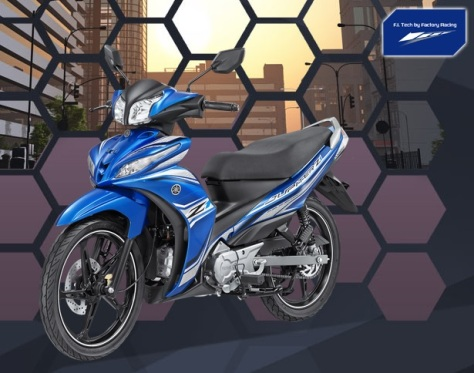 Yamaha JupiZ1 Sporty Blue