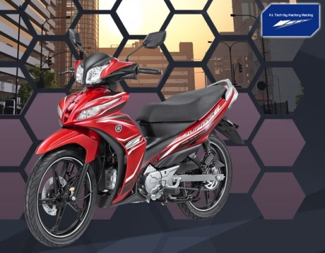 Yamaha JupiZ1 Sporty Red