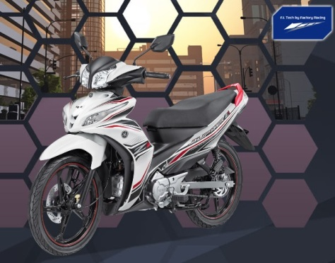 Yamaha JupiZ1 Sporty White