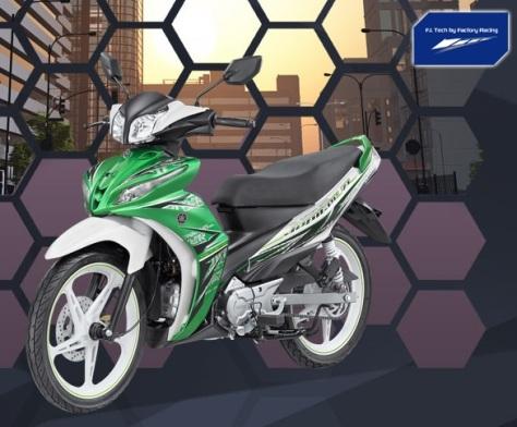 Yamaha JupiZ1 Street Green