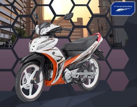 Yamaha JupiZ1 Street White