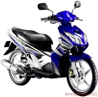 Yamaha Nouvo Z Blue