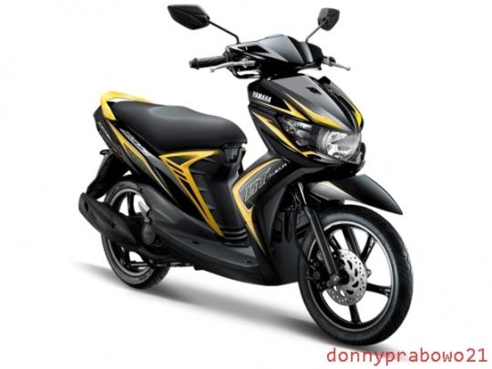 Yamaha Soul GT Black Yellow