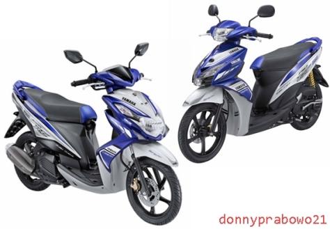 Yamaha Xeon RC dan Mio J MotoGP Edition