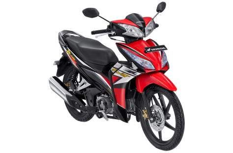 New Honda Blade R Red