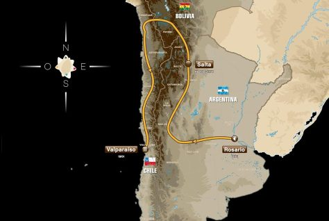 2014-dakar-rally-route-map