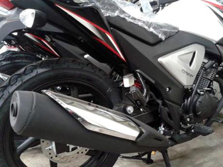 New Honda Megapro FI 2014_Knalpot