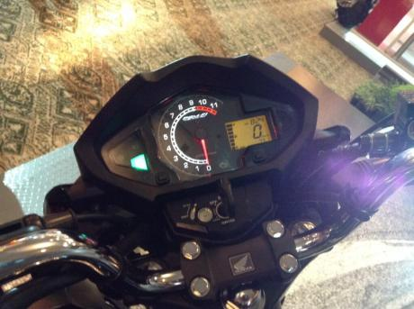 New Honda Megapro FI 2014_Speedometer