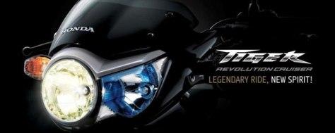 Honda Tiger Revo Asimetris Headlamp